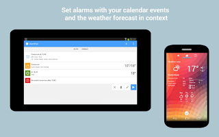 Screenshot of AlarmPad - Alarm Clock Free