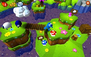 Screenshot of Doggie Blues 3D
