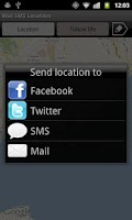 Screenshot of SMS Location