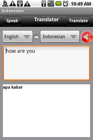 English Indonesian Translator