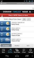 Screenshot of WPBF 25 News and Weather