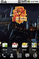 Screenshot of Harry Potter Gryffindor Clock
