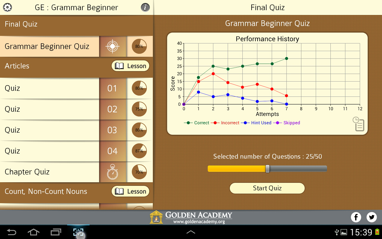 Grammar Expert : Beginner Screenshot 7