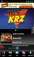 Screenshot of 98.5 KRZ – Today's Best Music