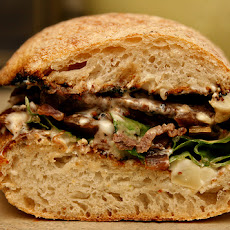 Grilled Flank Steak Sandwich