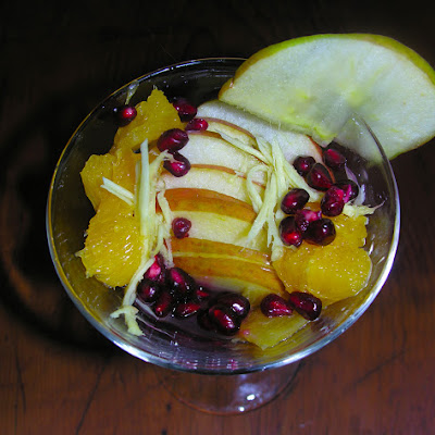 An Apple-eldertini Cocktail