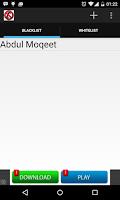 Screenshot of Calls and Sms Blocker