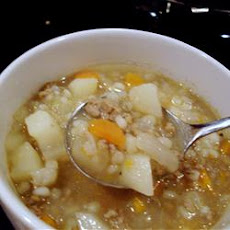 Barley Turkey Soup