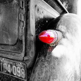 Blinky by Sue Neitzel - Artistic Objects Other Objects ( lights, trucks, red, vintage, cars,  )