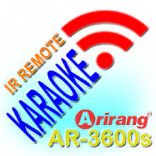 Remote Arirang R3600s-PHONE
