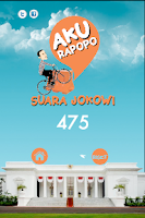 Screenshot of Jokowi Aku Rapopo