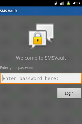 SMS Vault