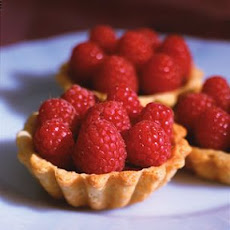 Raspberry and Chocolate Tartlets
