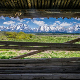 Tetons by Alice Burghart - Buildings & Architecture Public & Historical