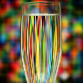 Reflected colors by Andy Just Andy - Artistic Objects Glass