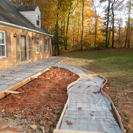 Progress on the Porch by Dawn Schriebl Hartley - Buildings & Architecture Other Exteriors