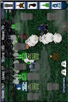 Screenshot of Ghost Tower Defense FREE