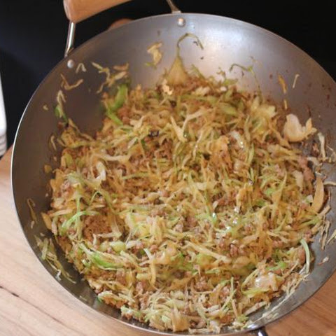 Stir Fried Cabbage and Pork