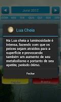 Screenshot of Calendário para pesca