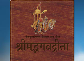 Screenshot of Bhagawad Gita Hindi