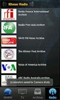 Screenshot of Khmer Live TV and Radio
