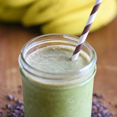 Superfood PB Banana and Cacao Green Smoothie