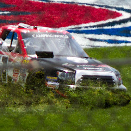 Plowing the infield by James Shultz - Sports & Fitness Motorsports ( nascar, kansas speedway,  )