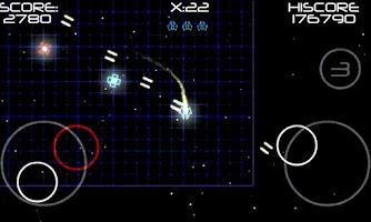 Screenshot of AttackWave ( Space Shooter )