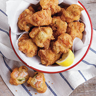 Shrimp-and-Okra Hush Puppies