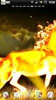 Screenshot of Fire Horse Live Wallpaper