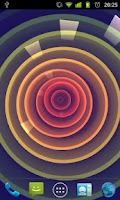 Screenshot of Circle Rose Live Wallpaper