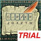 Cryptogram Puzzles Free Trial icon