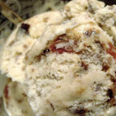 Leftover Christmas Pudding Ice Cream