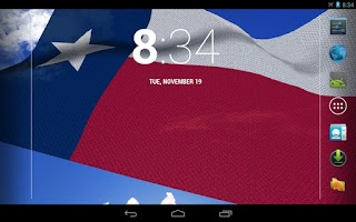 Screenshot of Texas Flag Live Wallpaper