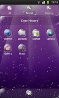 Screenshot of Clear Theme 4 GO Launcher EX