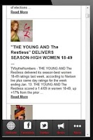 Screenshot of The Young and The Restless Fan