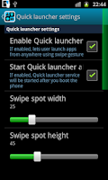 Screenshot of App Arrange - sidebar launcher
