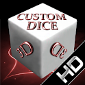 Custom Dice 3D icon