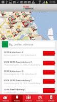 Screenshot of SPAR Danmark