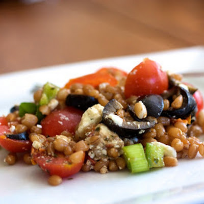 Greek Wheat Berry Salad