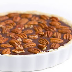 Easy Bitter Sweet Chocolate Pecan Pie