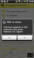 Screenshot of RBA na dlanu