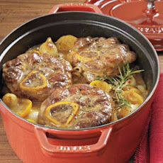 Meyer Lemon-Braised Veal Shanks