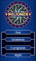 Screenshot of Milioner