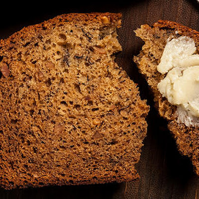 Peanut Butter–Honey Banana Bread