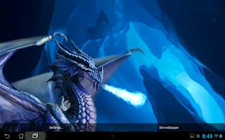 Screenshot of Dragon Live wallpaper