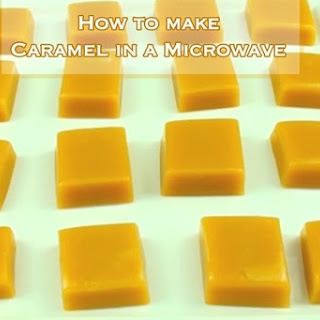 How to make Caramel in a Microwave