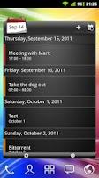 Screenshot of APW Widgets