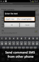 Screenshot of SMS Rec Hi-Q Hidden Camera LT