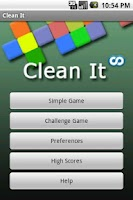 Screenshot of CleanIt
